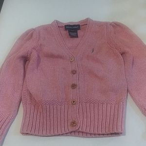 Polo Ralph Lauren Girls Sweaters Size 3T